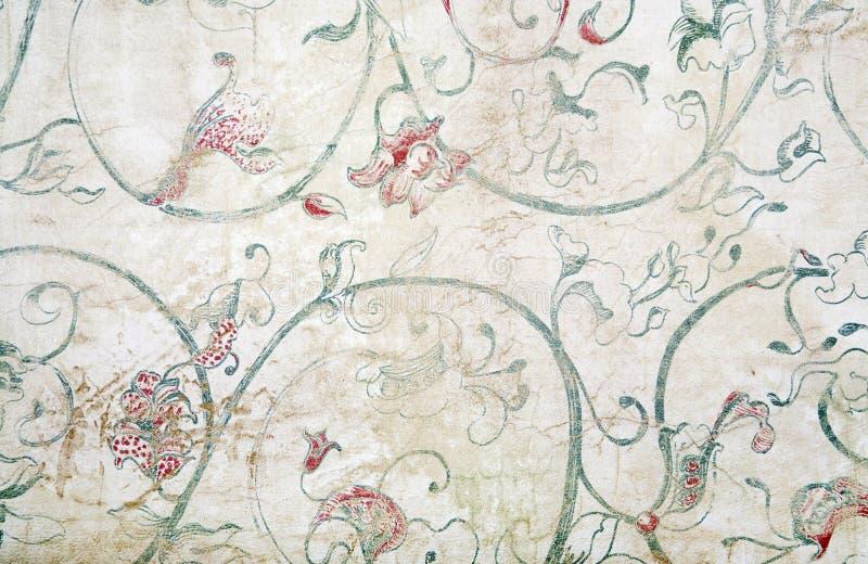 Decorative Wallpaper royalty free stock photo