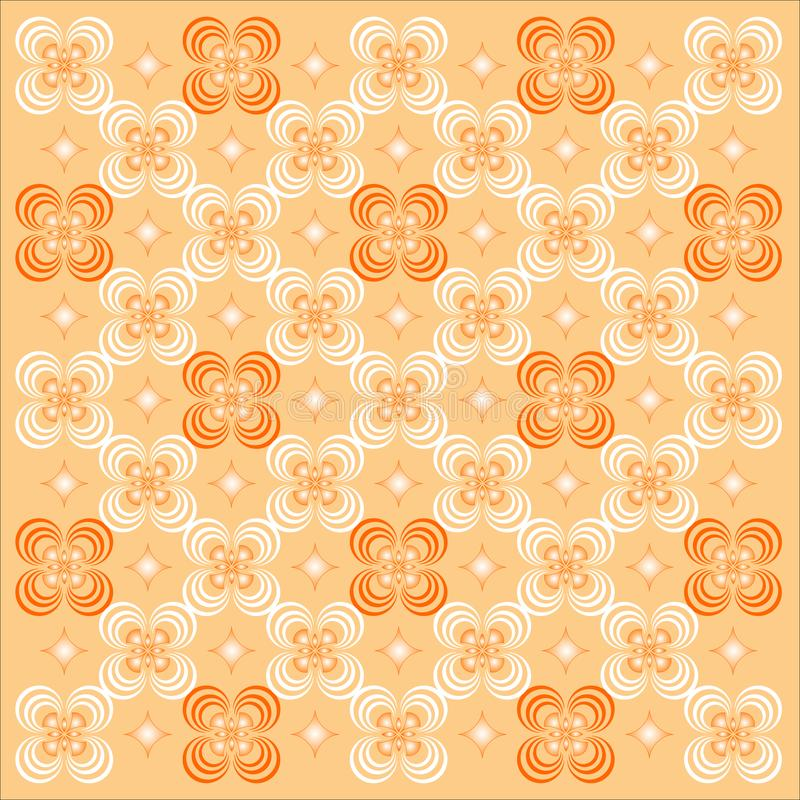 Decorative Wallpaper. royalty free stock image