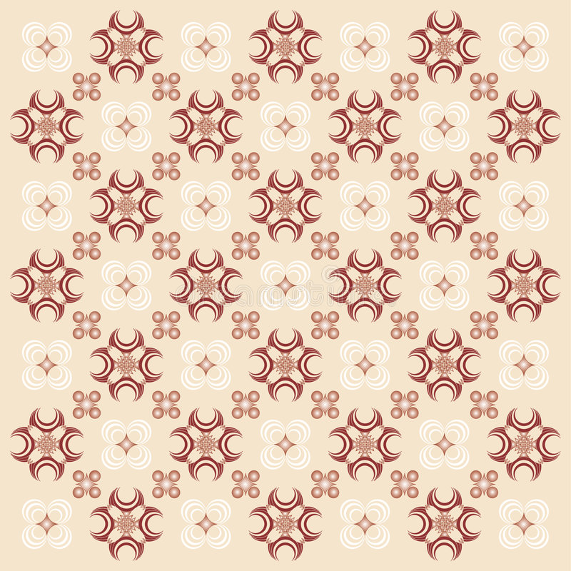 Decorative Wallpaper. Decorative Wallpaper Background. Vector File, change colors easily vector illustration