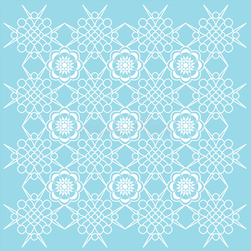 Decorative Wallpaper. Decorative Wallpaper Background. Vector File, change colors easily royalty free illustration