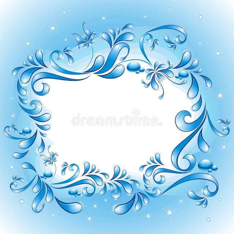 Free Decorative Water Frame Stock Photography - 11107282
