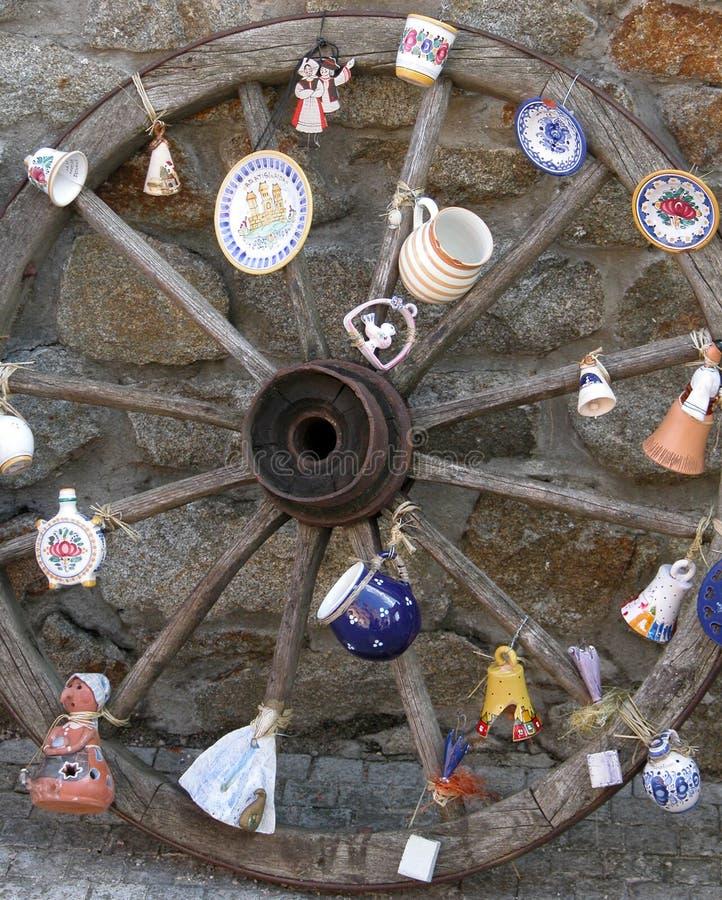 Decorative Wheel Royalty Free Stock Photo