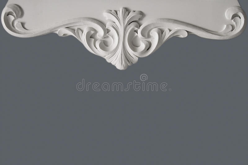 Decorative wood design. Boarders image on top stock photos