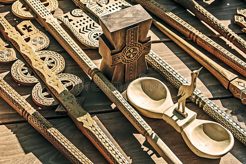 Download Decorative wooden carved 2 stock image. Image of objects - 39514861