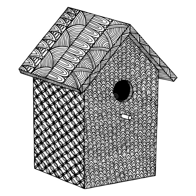 Birdhouse Coloring Pages | Monster coloring pages, Cartoon ... | 800x800