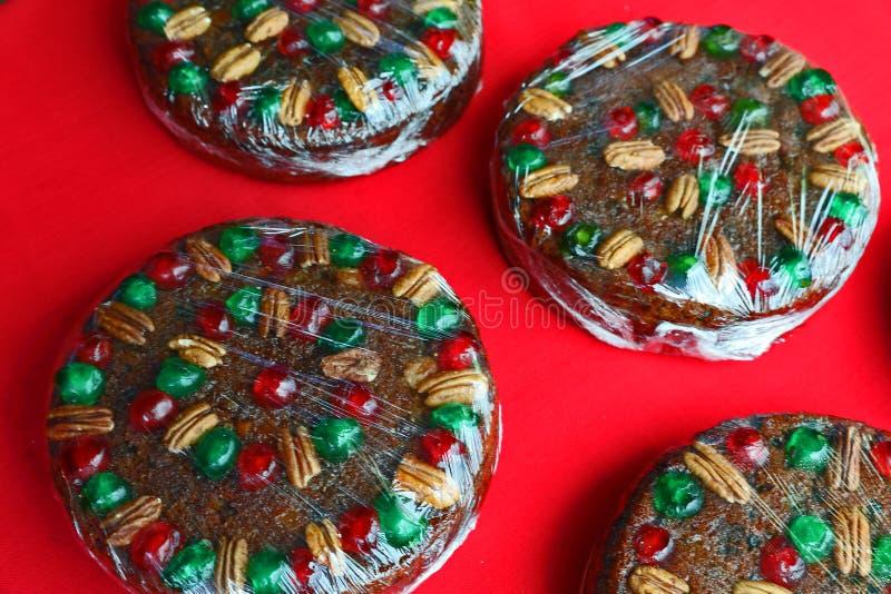 Decorato e cotto per il Natale immagine stock