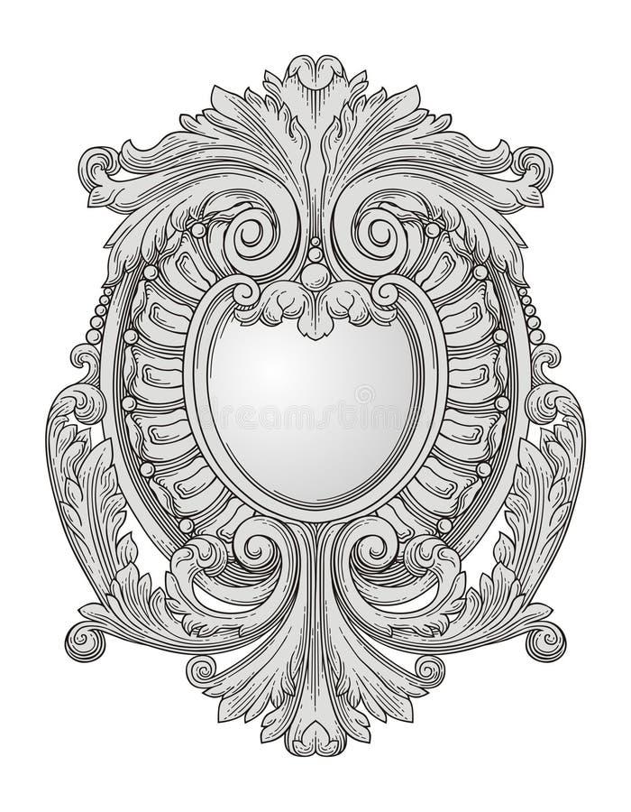 Download Decorazione illustrazione vettoriale. Illustrazione di incisione - 25468602
