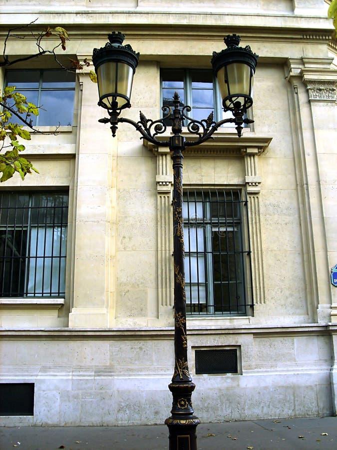 Decorazione antica della lampada di via immagine stock libera da diritti