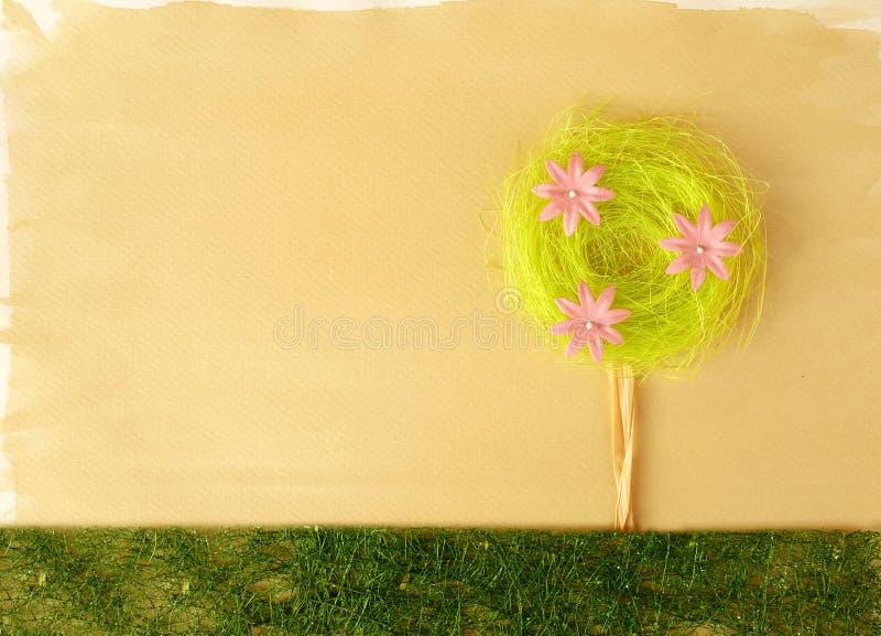 Decorazione artistica del fiore fotografie stock libere da diritti