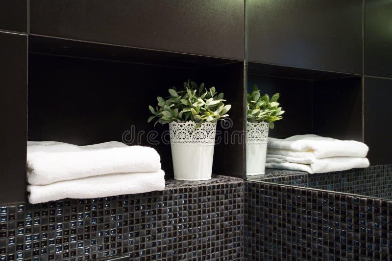 Decorazione in bagno moderno fotografia stock immagine di costoso idea 54691712 - Decorazione bagno ...