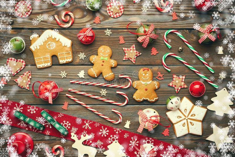 Decorazione casalinga di Natale royalty illustrazione gratis