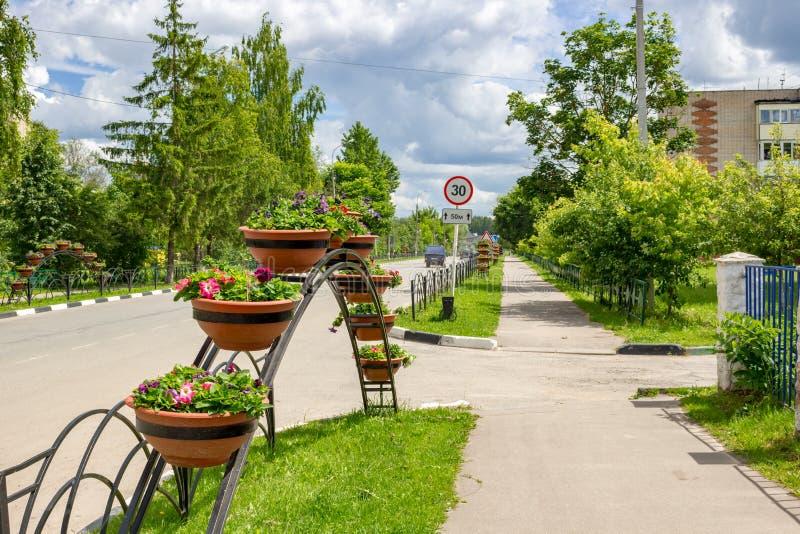 Decorazione dei colori delle vie della città immagini stock libere da diritti