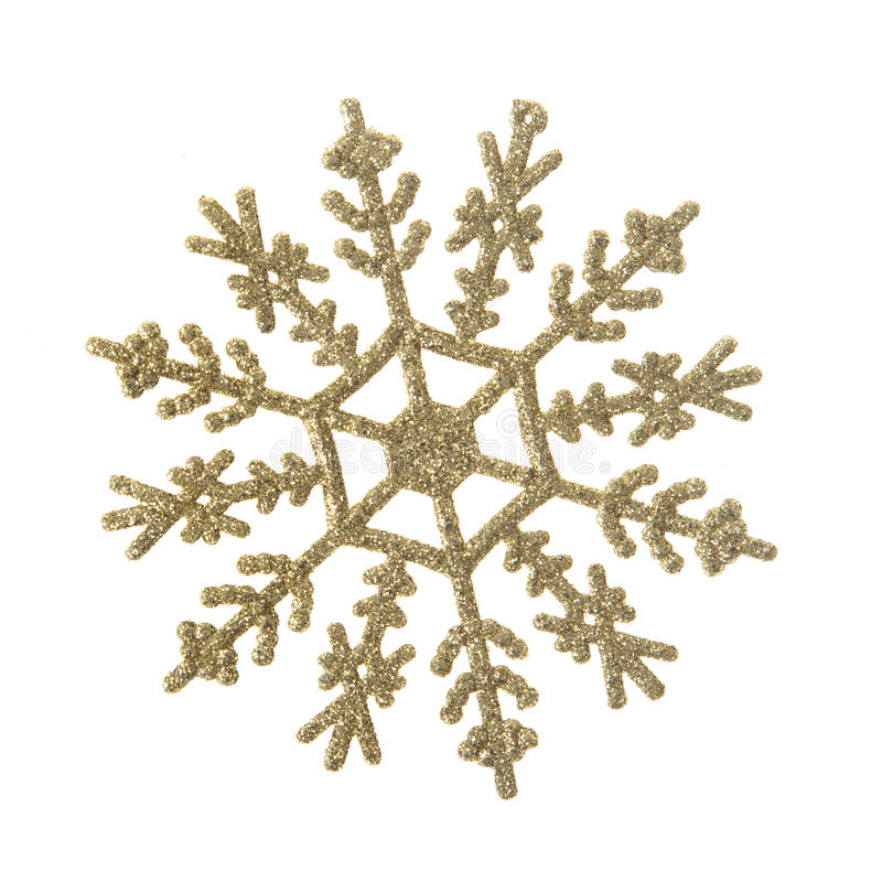 Decorazione del fiocco di neve immagini stock libere da diritti