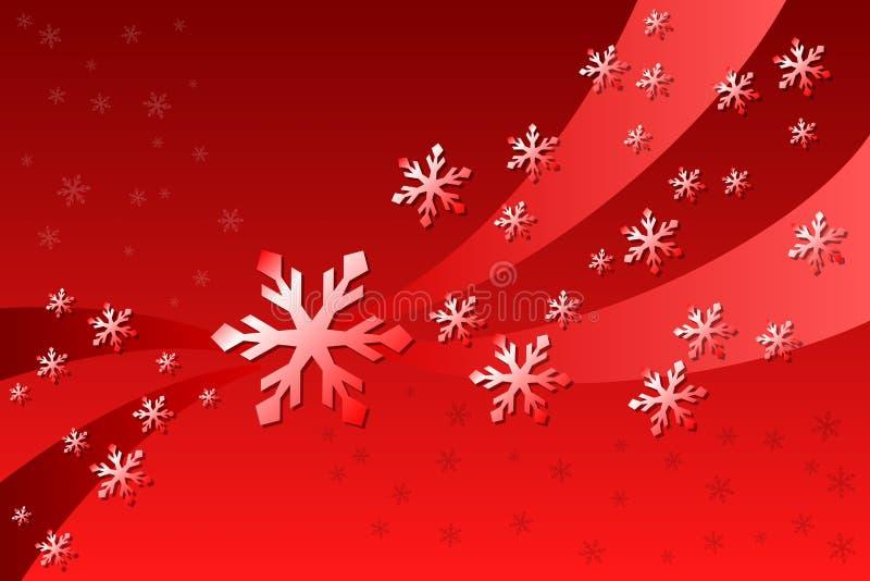 Decorazione del fiocco di neve illustrazione di stock