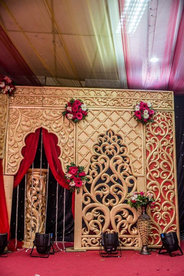 Decorazione del fondo di nozze per lo sguardo astratto fotografie stock