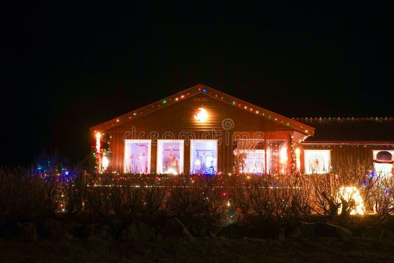 Decorazione del Natale dell'Islanda fotografie stock