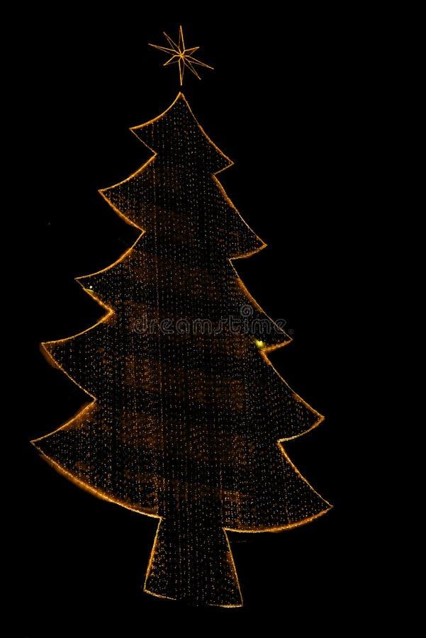 Decorazione del Natale di stile fotografie stock libere da diritti