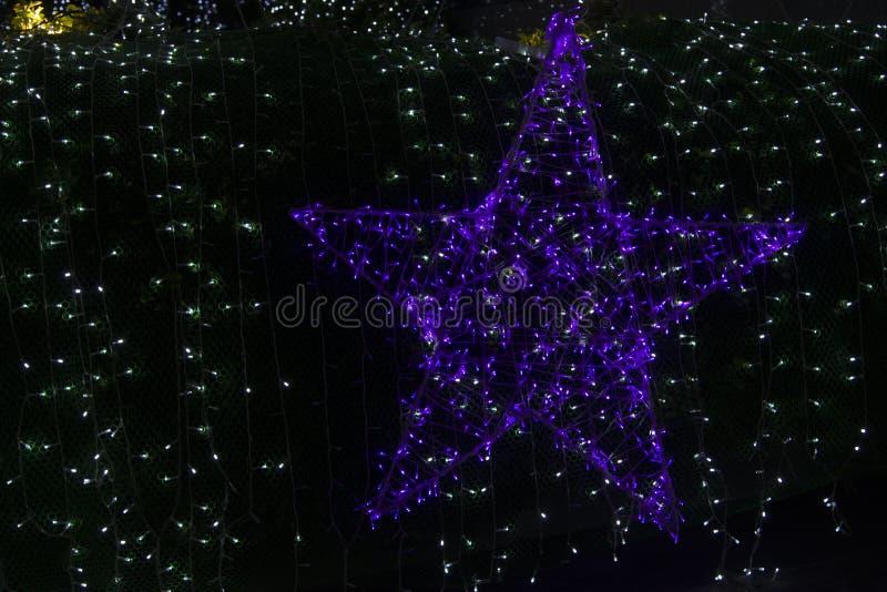 Decorazione del Natale di stile fotografia stock