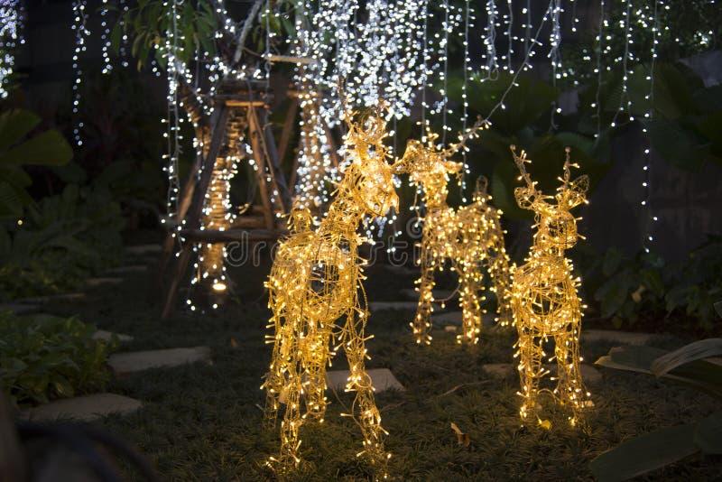 Decorazione del Natale di stile fotografia stock libera da diritti