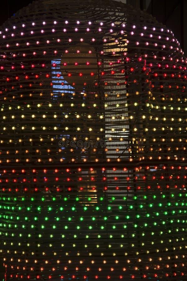 Decorazione del Natale di stile immagine stock libera da diritti