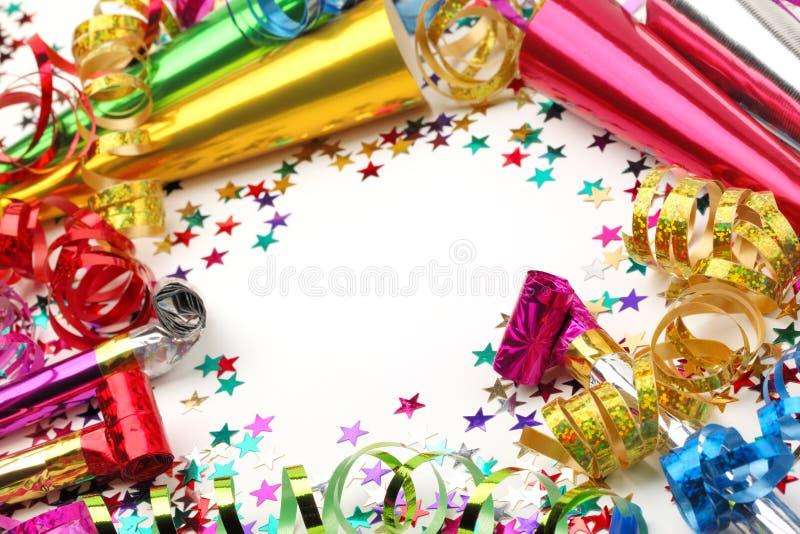 Decorazione del partito del nuovo anno immagine stock libera da diritti