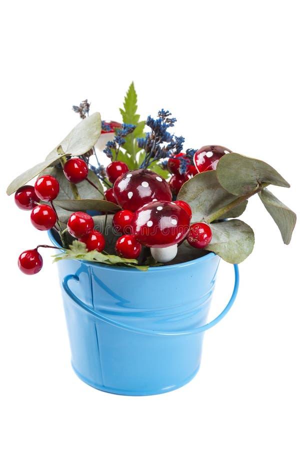 Decorazione Del Vaso Da Fiori Con La Pianta Verde Naturale ...