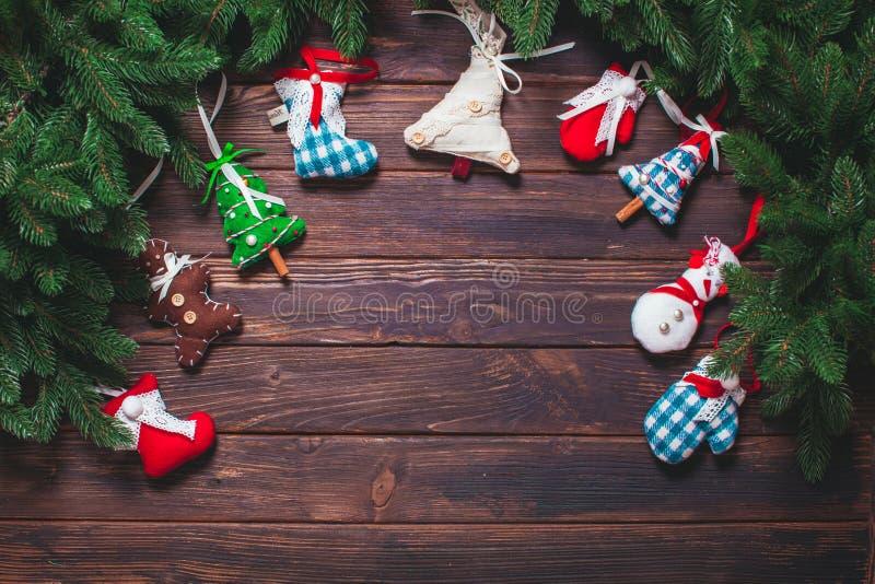 Decorazione dell'annata di Natale fotografie stock