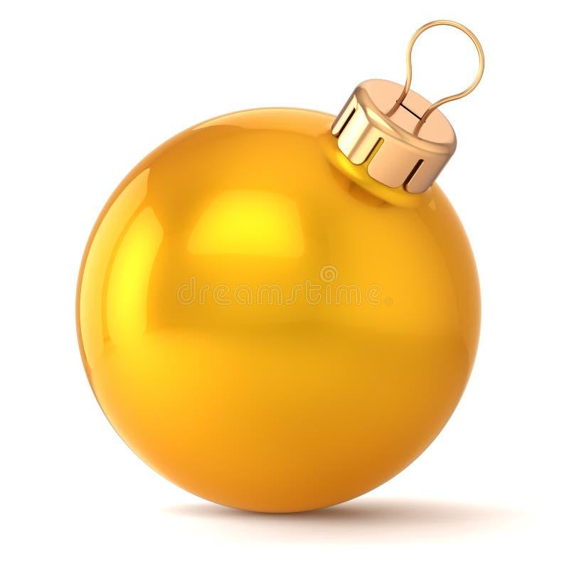 Decorazione della bagattella di EVE dei nuovi anni della palla di Natale illustrazione vettoriale