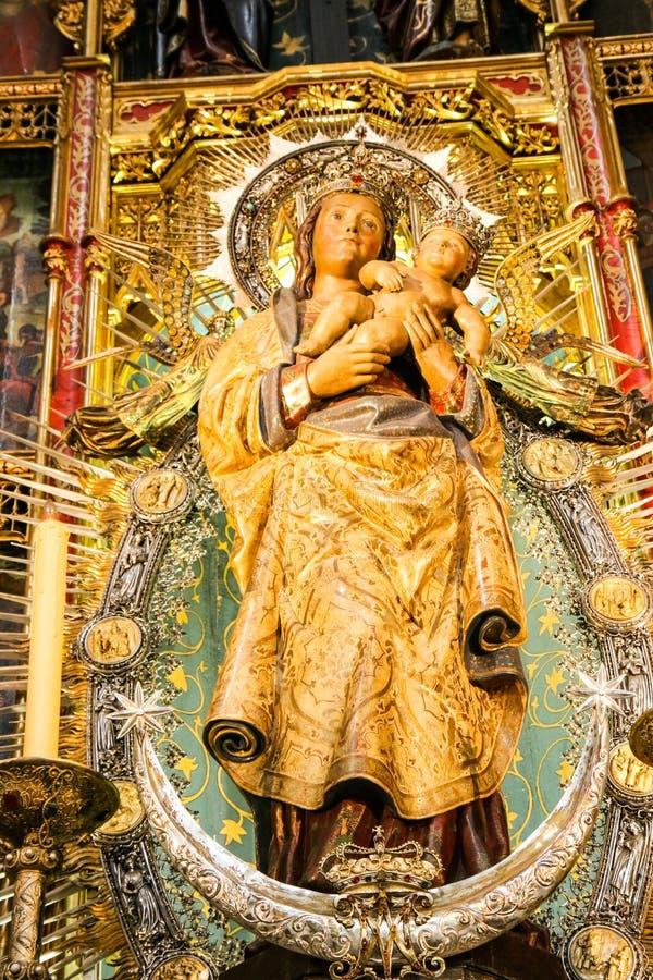 Decorazione della cattedrale immagini stock libere da diritti