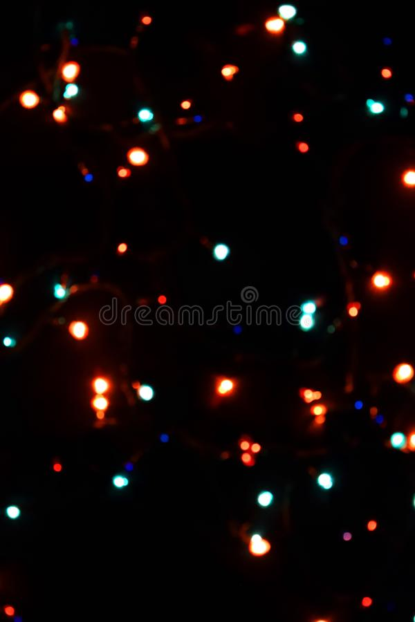 Decorazione della lampadina Ghirlanda con fotografia stock libera da diritti