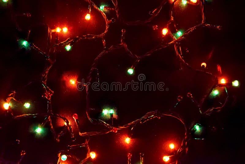Decorazione della lampadina Ghirlanda con immagine stock libera da diritti