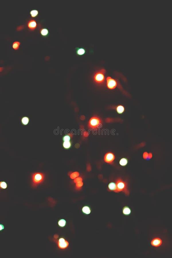 Decorazione della lampadina Ghirlanda con fotografia stock