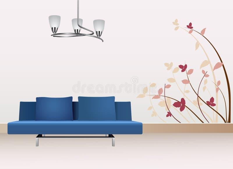 Decorazione della parete royalty illustrazione gratis