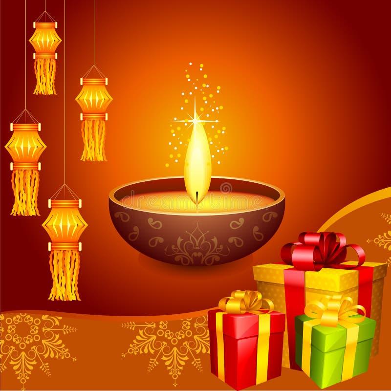 Decorazione di Diwali royalty illustrazione gratis