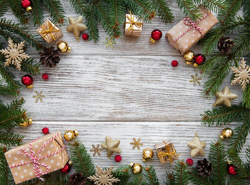 Decorazione di festa di Natale immagine stock libera da diritti