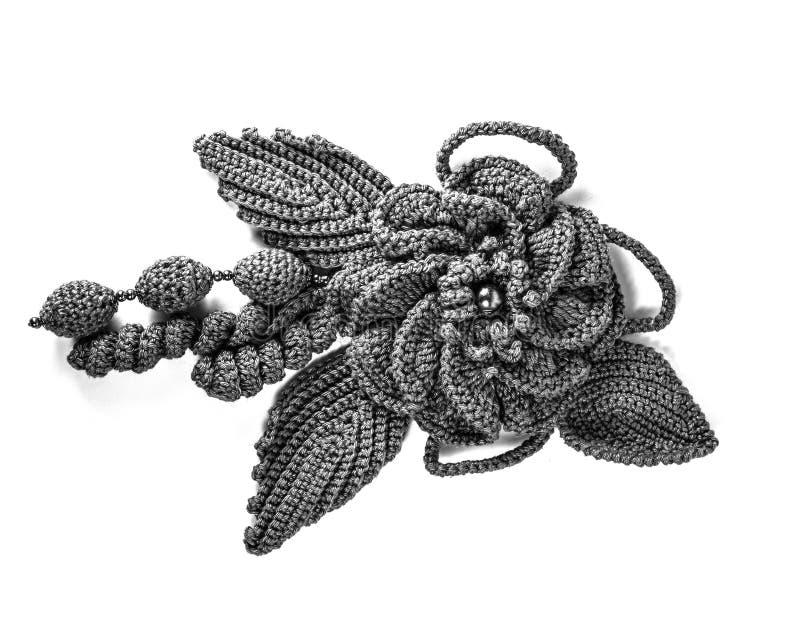 Decorazione di lana tricottata immagine stock