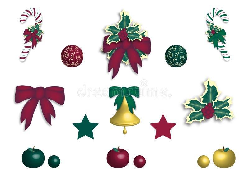 Decorazione di Natale illustrazione di stock