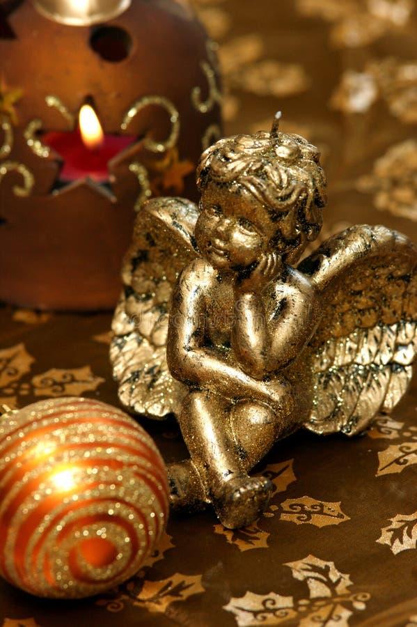 Decorazione di Natale - angelo di Natale immagine stock