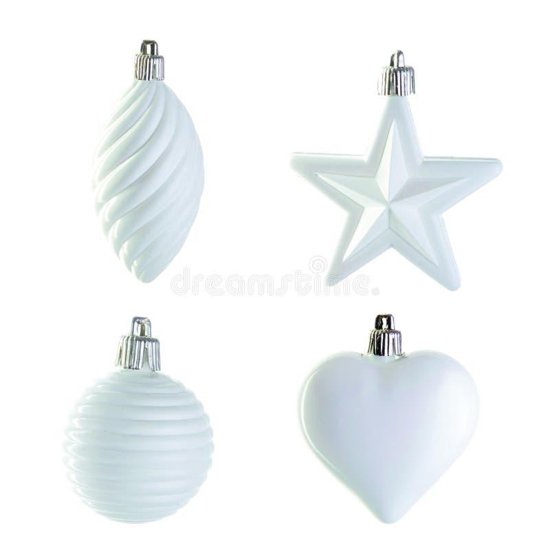 Download Decorazione Di Natale Bianco Fotografia Stock - Immagine di figura, festa: 7302096