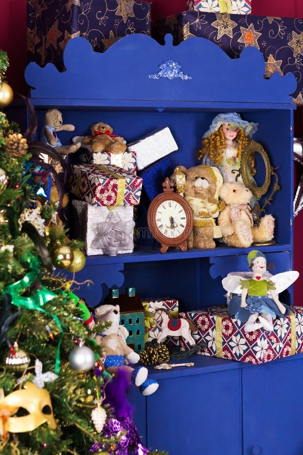 decorazione di Natale di Vecchio-modo fotografie stock