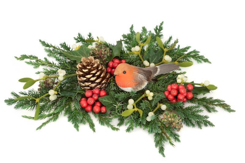 Decorazione di Natale e di inverno fotografie stock libere da diritti