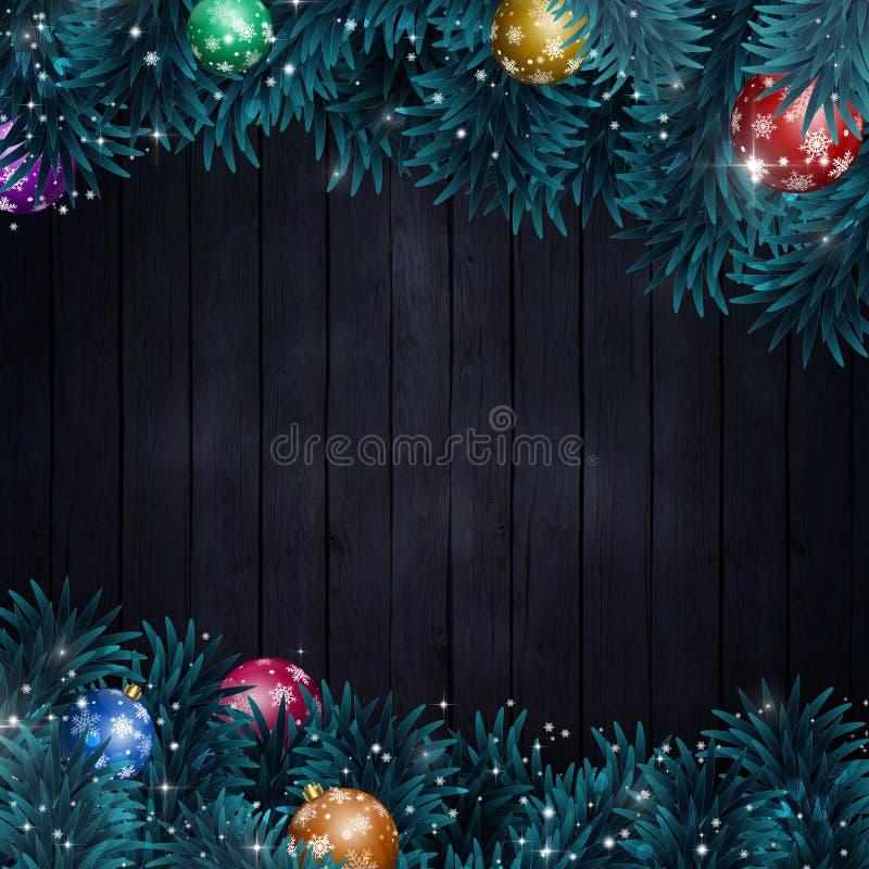 Decorazione di Natale di inverno royalty illustrazione gratis