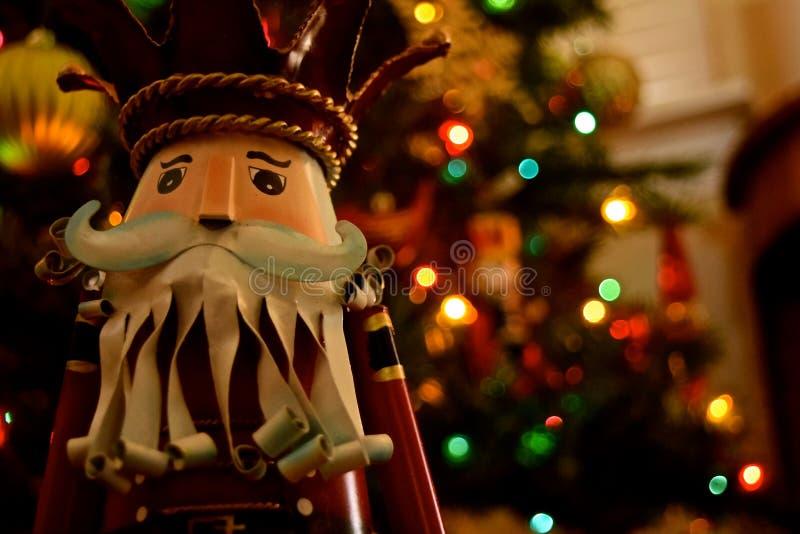 Decorazione di Natale - schiaccianoci fotografia stock libera da diritti