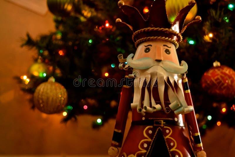 Decorazione di Natale - schiaccianoci fotografia stock