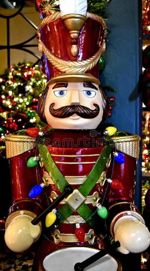 Decorazione di Natale, Toy Soldier, batterista fotografia stock libera da diritti