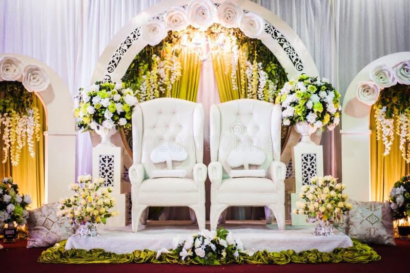 Decorazione di nozze immagine stock