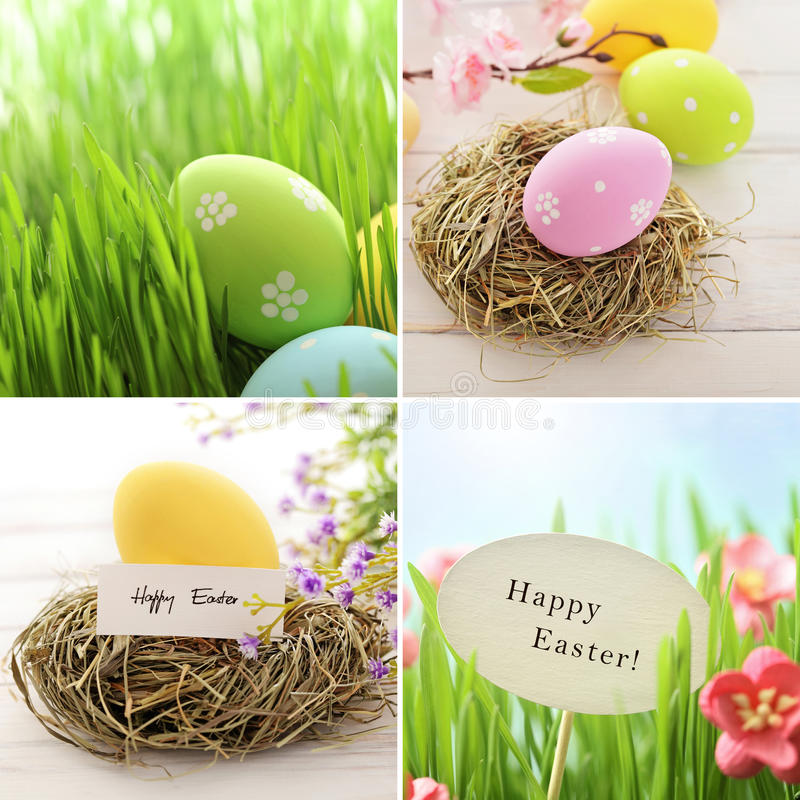 Decorazione di Pasqua fotografie stock