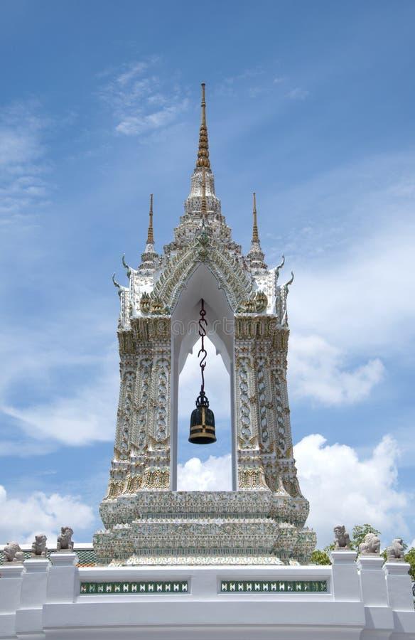 Decorazione di Stupa in Wat Pho, Bangkok immagini stock