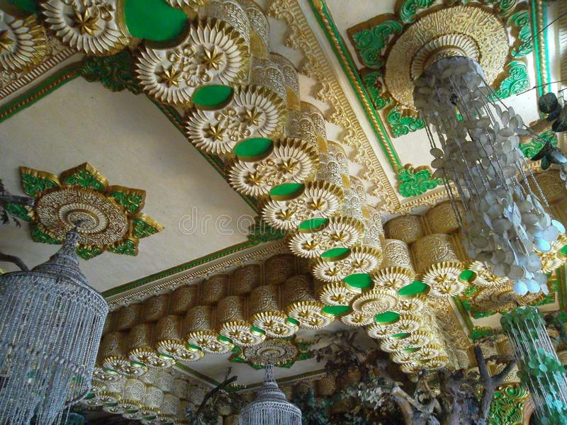 Decorazione di Tiban della moschea immagini stock libere da diritti