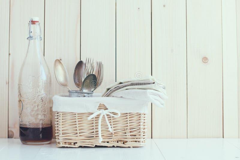 Decorazione domestica della cucina fotografia stock libera da diritti